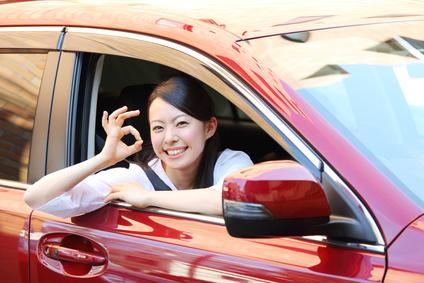 OK・車・女性