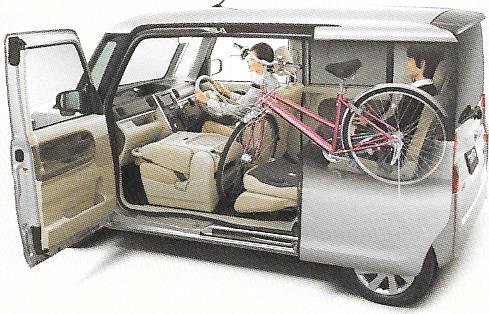 27インチの自転車も積める軽自動車はどれ